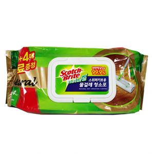 스위퍼 키트용 물걸레 청소포 내추럴(20매)