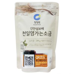 대상 청정원 100%천일염 꽃소금(280g)