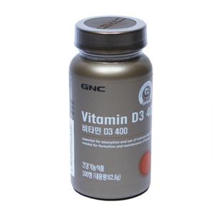 GNC 비타민D 400 (100정)