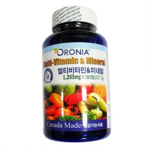 오로니아 종합비타민&미네랄(6개월)