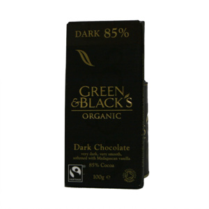 그린앤블랙 다크초콜릿(100g)