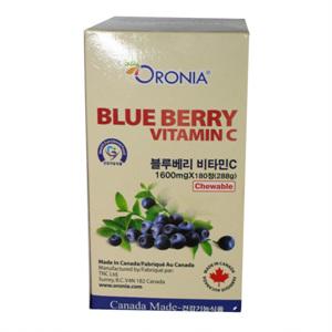 오로니아 블루베리 비타민C(180정)