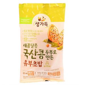풀무원 국산콩두부로 만든 새콤달콤 유부초밥(165g)
