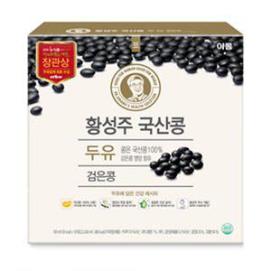 황성주 검은콩 두유(190ml*16입)