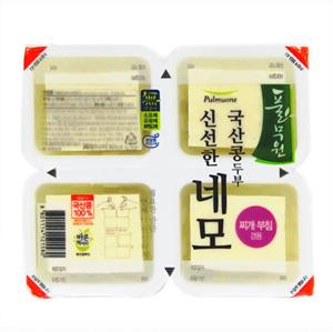 풀무원 국산콩 신선한 네모두부(340g)