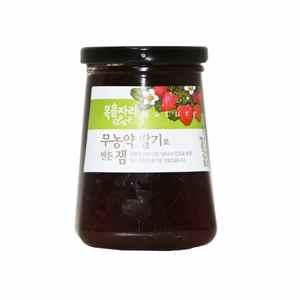 유기농산 무농약 딸기로 만든 잼(500g)