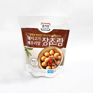 종가집 돼지고기 메추리알 장조림(200g)