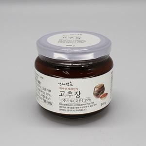 명인명촌 해바랑 재래한식 고추장(500g)