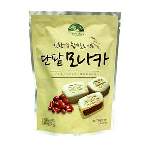 친환경쌀로 만든 단팥모나카(110g)