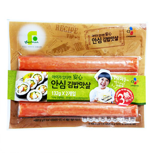 CJ 안심김밥맛살 (132g*2)