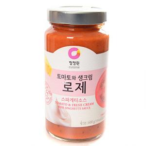 대상 로제 토마토와 생크림 스파게티소스 (600g)