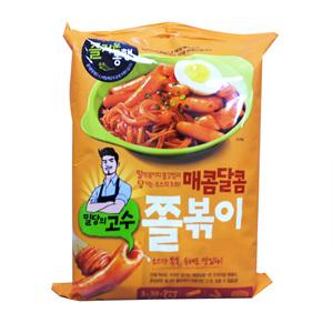 CJ밀당의고수 매콤달콤 쫄볶이 2인분(470g)