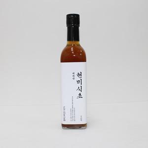 명인명촌 해바랑 재래한식 현미식초(420ml)
