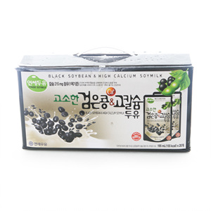 연세 파우치 검은콩&고칼슘두유(195ml*20)