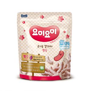 매일 요미요미 유기농 쌀과자 빨강 7개월(25g)