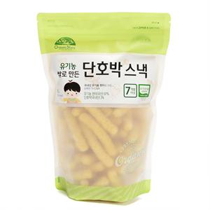 유기농쌀로만든 단호박스넥(70g)