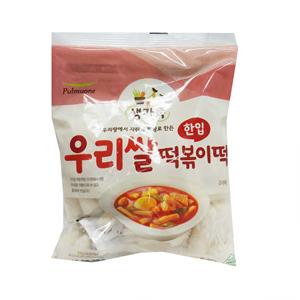 풀무원 우리쌀 한입떡볶이 (400g)
