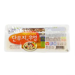 풀무원 찬김밥용 단무지와 우엉(350g)