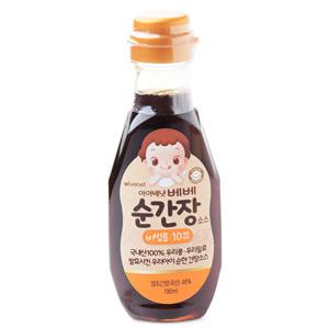 아이배냇 베베 순 간장소스 비빔용(190ml)