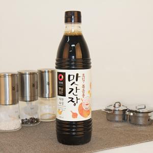 청정원 햇살담은 자연숙성 맛간장 조림볶음용 (840ml)