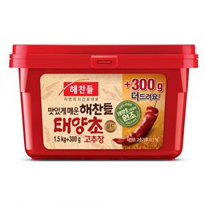 CJ 태양초 골드고추장 (1.5kg+300g)