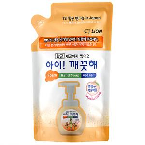 CJ 아이깨끗해 항균 폼 핸드워시 모이스처라이징 복숭아향 리필(200ml)