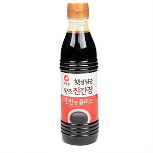 대상 햇살담은 양조 진간장 진한맛 플러스(500㎖)