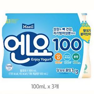 매일 엔요 3입(100ml*3)
