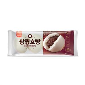 SPC삼립 천연효모 생생야채호빵(360g)