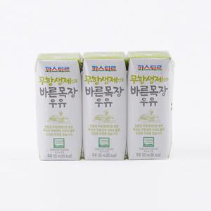 파스퇴르 무항생제 인증 바른목장우유 (750ml)