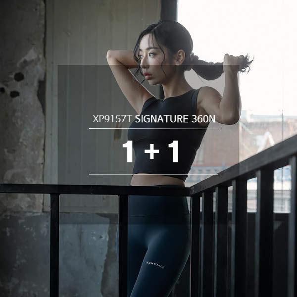 [현대백화점] [젝시믹스] XP9157T 블랙라벨 시그니처 360N 레깅스 1+1