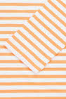COS image 25 of 오렌지 in 와이드 넥 스트라이프 탑