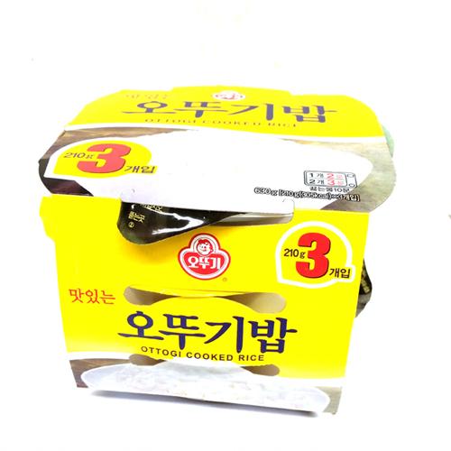 오뚜기 맛있는 밥(210g*3)