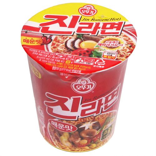 오뚜기 진라면컵매운맛(65g)