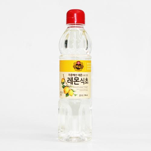 CJ 백설 레몬식초(500ml)