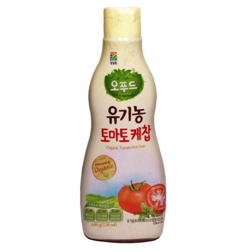 대상 유기농 토마토케찹(600g)
