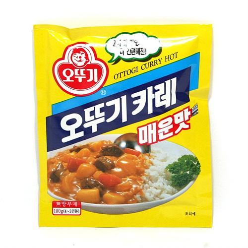 오뚜기 카레매운맛(100g)