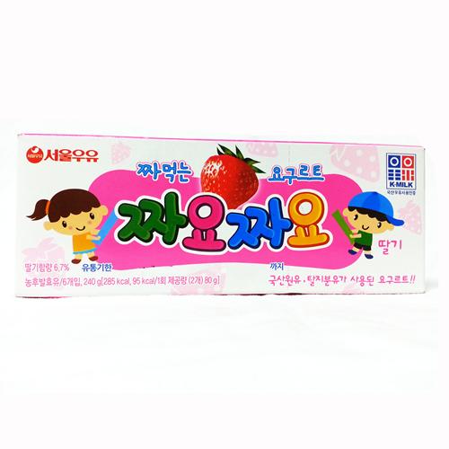 서울 짜요짜요 딸기(40g*6)