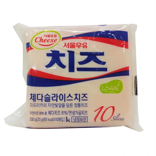 서울 체다슬라이스치즈(200g)