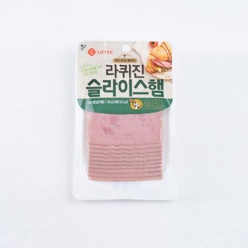 롯데햄 사각슬라이스 햄(100g)