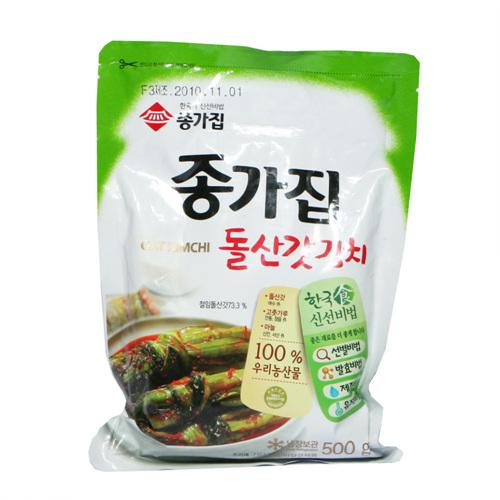 종가집 돌산갓김치(500g)