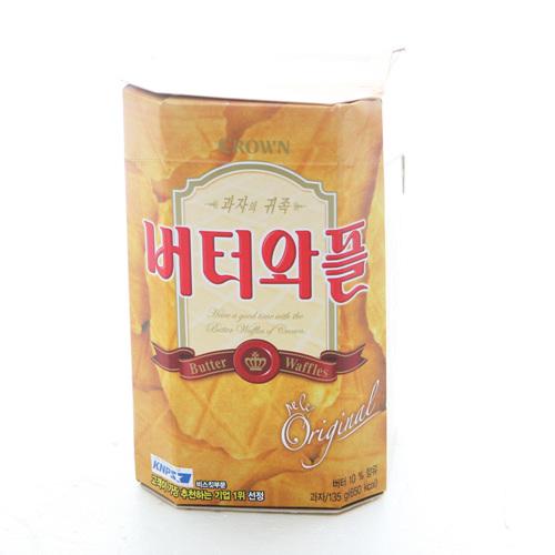 크라운  버터와플(135g)