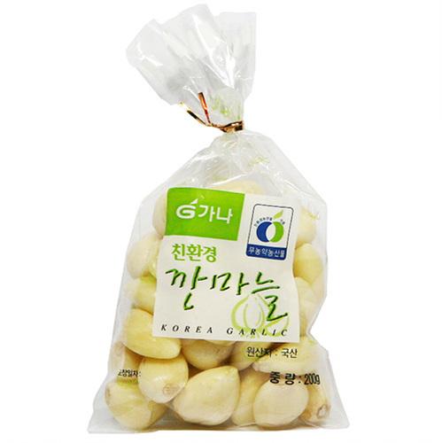 가나 무농약 깐마늘(200g)