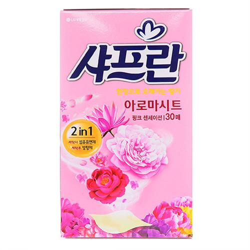 LG 샤프란 아로마시트 스프링가든향(30매)