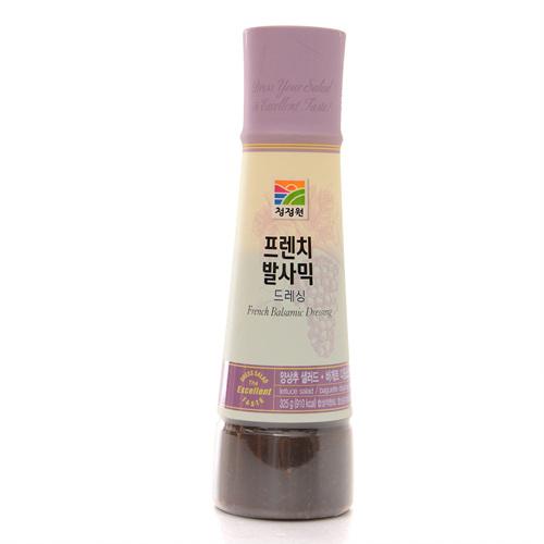 대상 발사믹&벌꿀 프렌치 발사믹 드레싱(325g)