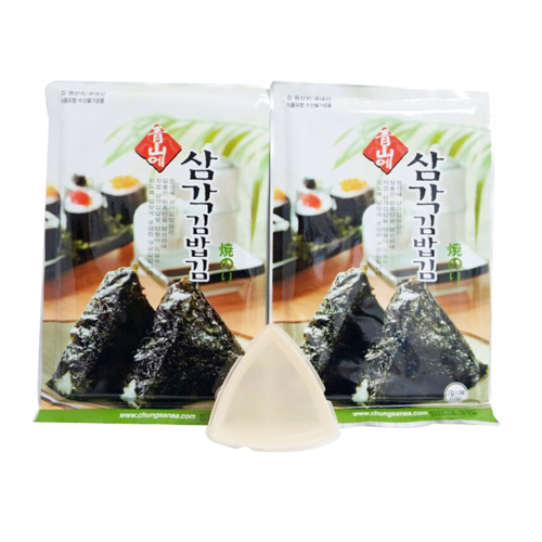 청산에 삼각김밥김(10매*2봉+김밥틀)