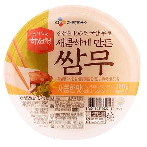 CJ 하선정 쌈무 새콤한 맛(350g)