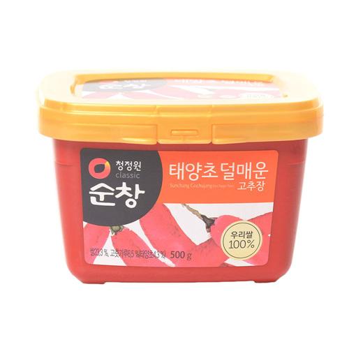 대상 순창 우리쌀로 만든 덜매운 고추장(500g)