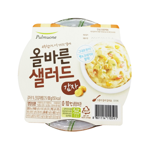 풀무원 샐러드바 감자샐러드(145g)
