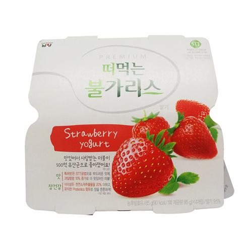 남양 떠먹는 불가리스 Origin 딸기(90g*4)